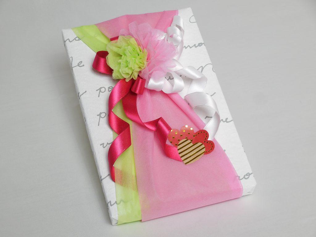 ギフトラッピング 43作品目 バレンタイン